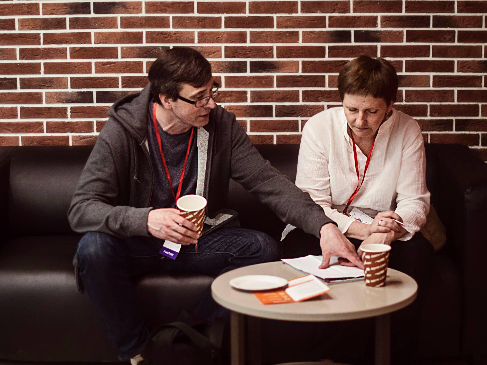 Денис Курепин и Лариса Дробот придумали ЧЕХОВ.today
